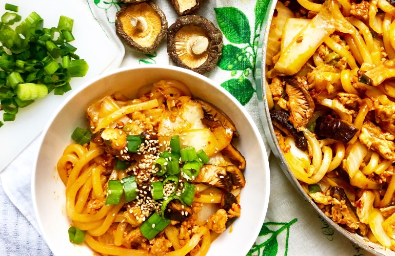 Spicy Pork and Udon Stir-Fry – To all the meals I've cooked